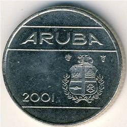 Coin > 10cents, 1986-2018 - Aruba  - obverse