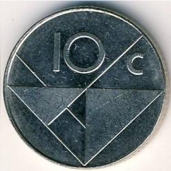 Coin > 10cents, 1986-2018 - Aruba  - reverse