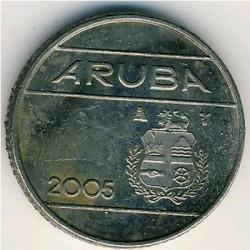 Moneta > 10centų, 2005 - Aruba  - obverse