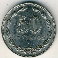 Pièce > 50centavos, 1941 - Argentine  - obverse