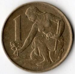 Moneta > 1korona, 1991-1992 - Czechosłowacja  - reverse