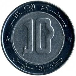 Monēta > 10dināru, 1992-2018 - Alžīrija  - obverse