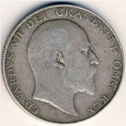 Кованица > ½круне, 1902-1910 - Уједињено Краљевство  - obverse