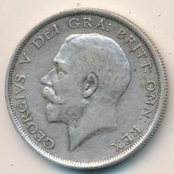 Moeda > ½coroa, 1911-1919 - Reino Unido  - obverse