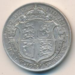 Moeda > ½coroa, 1911-1919 - Reino Unido  - reverse