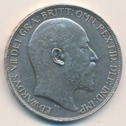 Кованица > 1круна, 1902 - Уједињено Краљевство  - obverse