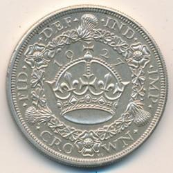 Moeda > 1coroa, 1927-1936 - Reino Unido  - reverse
