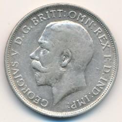 Moeda > 2shillings(florin), 1911-1919 - Reino Unido  - obverse