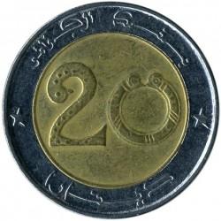 Moneda > 20dinares, 1992-2018 - Argelia  - obverse