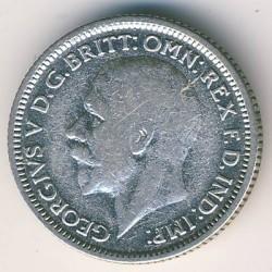 Moeda > 6pence, 1928-1936 - Reino Unido  - obverse