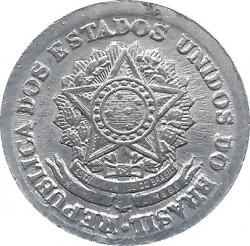 Coin > 1cruzeiro, 1957-1961 - Brazil  - obverse