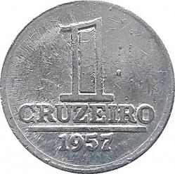 Coin > 1cruzeiro, 1957-1961 - Brazil  - reverse