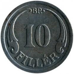 Munt > 10filler, 1940-1942 - Hongarije  - reverse