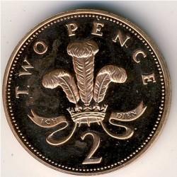 Moneta > 2pensai, 1982-1984 - Jungtinė Karalystė  - reverse