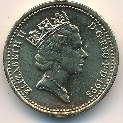 1 Pfund 1993 Vereinigtes Königreich Münzen Wert Ucoinnet