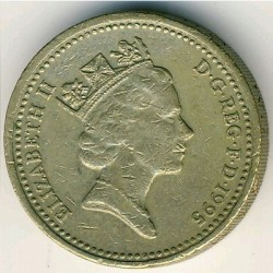 Coin > 1 pound, 1995 - United Kingdom  - reverse