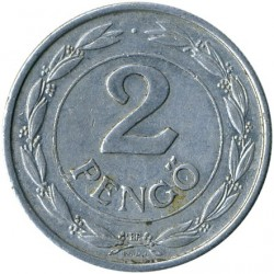 Монета > 2пенгё, 1941-1943 - Венгрия  - obverse