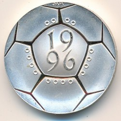 Монета > 2паунда, 1996 - Великобритания  (Euro'96 European Football Championships) - obverse