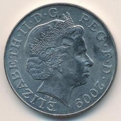 Moneta > 5sterline, 2009 - Regno Unito  (500th Anniversary - Accession of Henry VIII) - obverse