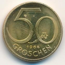 سکه > 50گروشن, 1964 - اتریش   - reverse