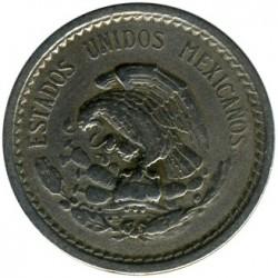 Νόμισμα > 5Σεντάβος, 1936-1942 - Μεξικό  - obverse