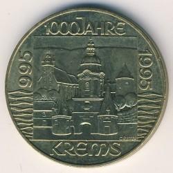 Moneta > 20szylingów, 1995 - Austria  (1000 lecie Krems) - reverse