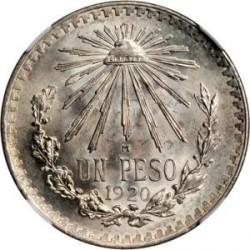 Νόμισμα > 1Πέσο, 1920-1945 - Μεξικό  - reverse