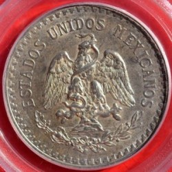 Münze > 1Peso, 1918-1919 - Mexiko  - obverse