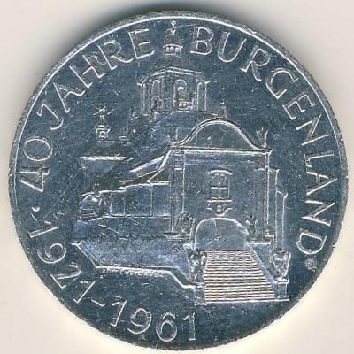 25 Schilling 1961 Burgenland österreich Münzen Wert Ucoinnet
