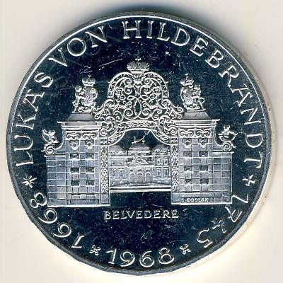 25 Schilling 1968 Lukas Von Hildebrandt österreich Münzen Wert