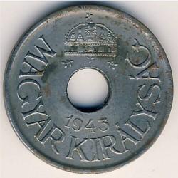 Монета > 20филлеров, 1941-1944 - Венгрия  - obverse
