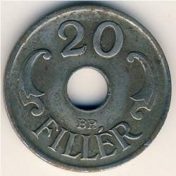 Монета > 20филлеров, 1941-1944 - Венгрия  - reverse
