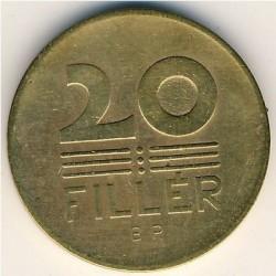 Монета > 20филлеров, 1946-1950 - Венгрия  - reverse