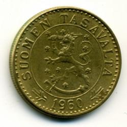 Münze > 20Mark, 1960 - Finnland  - obverse