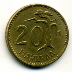 Münze > 20Mark, 1960 - Finnland  - reverse