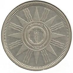 Moneda > 25fils, 1959 - Irak  - reverse