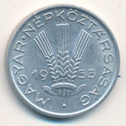 Νόμισμα > 20Φίλερ, 1953-1966 - Ουγγαρία  - reverse
