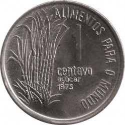 Moneta > 1centavo, 1975-1978 - Brazylia  (Seria FAO - Trzcina cukrowa) - reverse