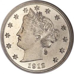 Moneda > 5centavos, 1883-1912 - Estados Unidos  (Nickel Libertad) - obverse