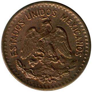 Central America Mexico 1 Cent Coin 1912
