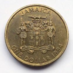 Münze > 1Dollar, 1993-1994 - Jamaika  - obverse