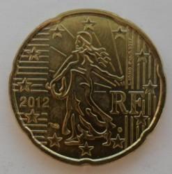 Moneta > 20centesimidieuro, 2012 - Francia  - obverse