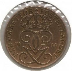 العملة > 5إيري, 1914 - السويد  - obverse