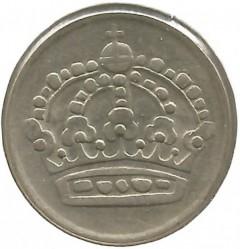 Mynt > 50øre, 1952-1961 - Sverige  - obverse