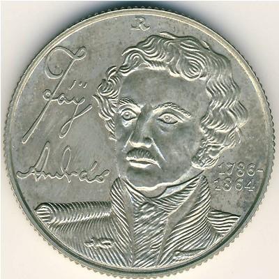 100 Forint 1986 Andras Fay Ungarn Münzen Wert Ucoinnet