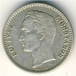 Münze > 50Centimos, 1954 - Venezuela  - reverse