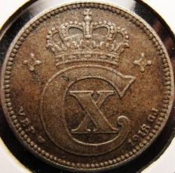 Coin > 2ore, 1918-1919 - Denmark  - obverse