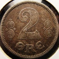 Coin > 2ore, 1918-1919 - Denmark  - reverse