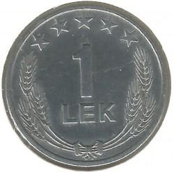 Coin > 1lek, 1964 - Albania  - reverse