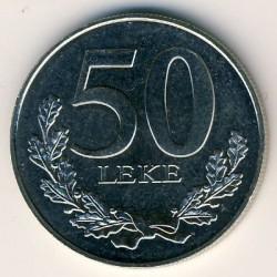 Moneda > 50lekë, 1996-2000 - Albania  - obverse
